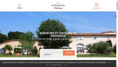 Site internet de Le Moulin du Chateau