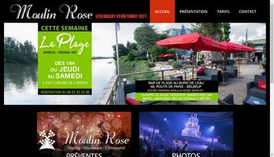 Site internet de Le Moulin Rose