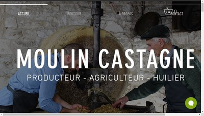 Site internet de Moulin a Huile Castagne