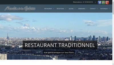 Site internet de Le Moulin de la Galette a Sannois