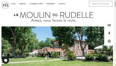 Site internet de Moulin de Rudelle