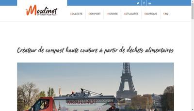 Site internet de Moulinot Compost & Biogaz