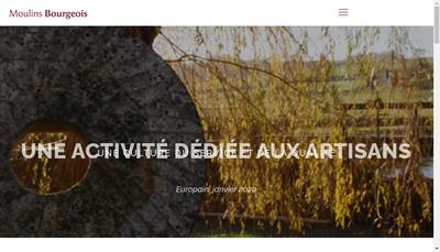Site internet de Les Moulins de Verdelot