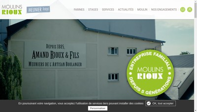 Site internet de A Rioux