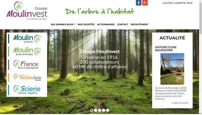 Site internet de Moulinvest