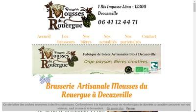 Site internet de Mousse du Rouergue