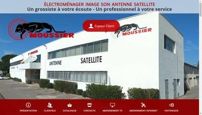 Site internet de Moussier Etablissements