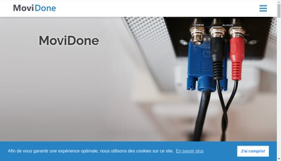 Site internet de Movidone