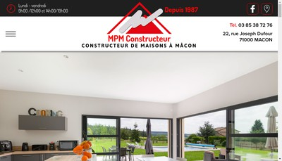 Site internet de MPM