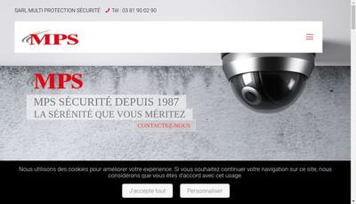 Site internet de Hi-Tech Securite