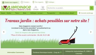 Site internet de Monsieur Jardinage