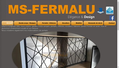 Site internet de Ms-Fermalu SARL