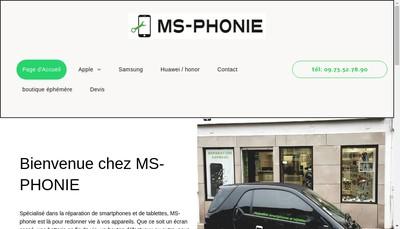 Site internet de Ms-Phonie