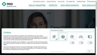 Site internet de Intervet Productions