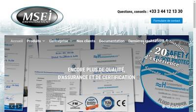 Site internet de B 2 E Ingenivo Environnement
