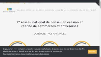 Site internet de Michel Simond Developpement
