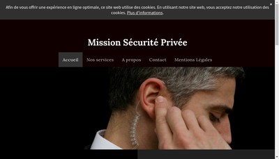 Site internet de Mission Securite Privee