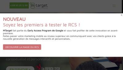 Site internet de M Target