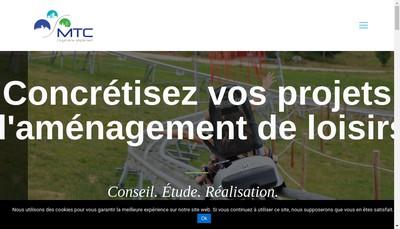 Site internet de Maitrise d'Oeuvre et Ingenierie en Transport par Cable et Amenagement