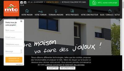 Site internet de Mtcmaisons Com