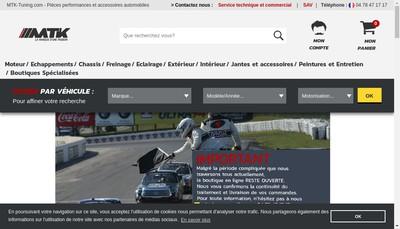 Site internet de Mtk Services