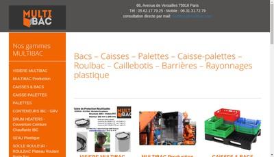 Site internet de Multibac