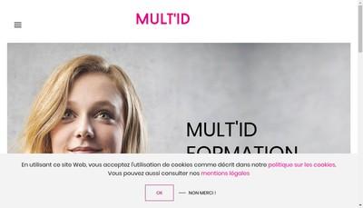 Site internet de Mult-Id