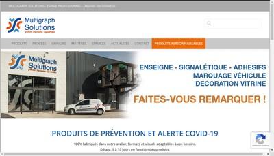 Site internet de Multigraph Solutions