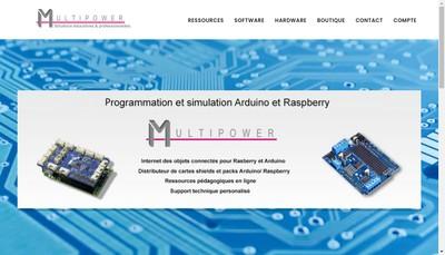 Site internet de Multipower