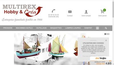 Site internet de Multirex