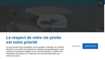 Site internet de Multi Services Plaisance
