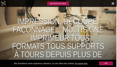 Site internet de Serigraphie Multi Signe