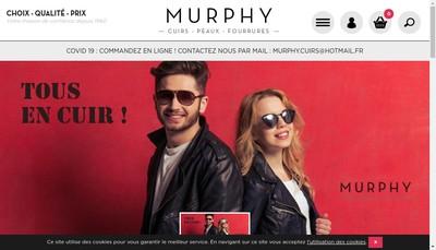 Site internet de Murphy