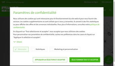 Site internet de Murrelektronik