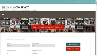 Site internet de Coysevox