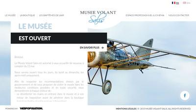 Site internet de Salis Aviation