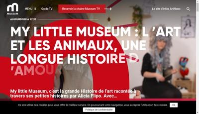 Site internet de Mediart