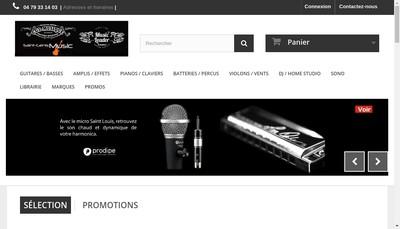 Site internet de Music Leader