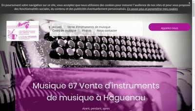Site internet de Musique 67