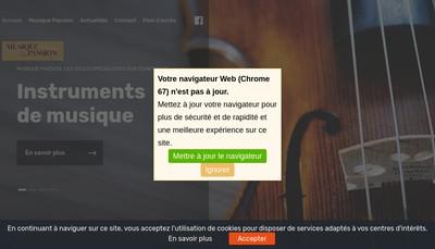 Site internet de Yannick Musique