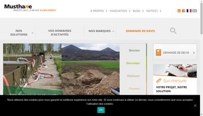 Site internet de Musthane