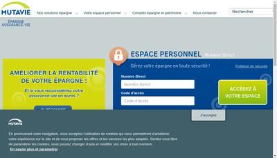 Site internet de Mutavie