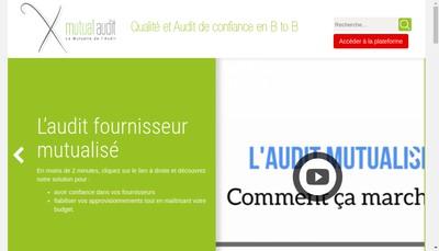 Site internet de Mutual Audit