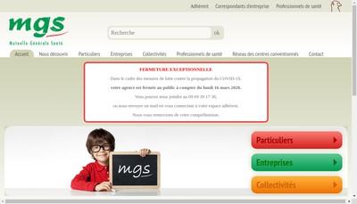 Site internet de Mutuelle Generale Sante