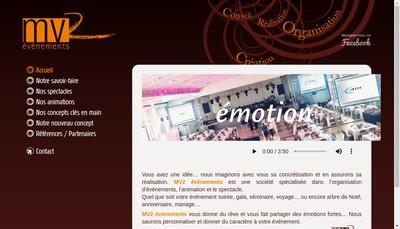 Site internet de Mv2