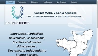 Site internet de Cets Bretagne Expertises