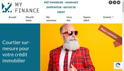 Site internet de My Finance