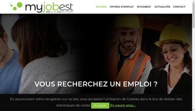 Site internet de My Job France