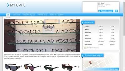 Site internet de My Optic