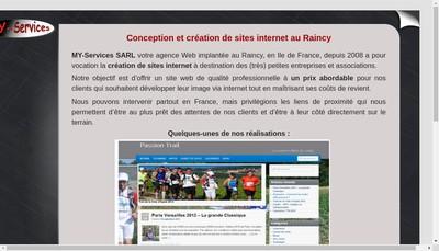 Site internet de My - Services